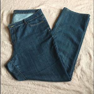 NEW Michael Kors straight leg denim jeans size 16W